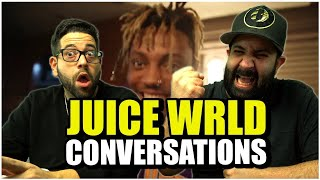 T-Timing, timing, timing!! Juice WRLD- Conversations (Official Music Video) *REACTION!!