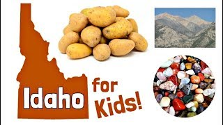 Idaho for Kids | US States Learning Video