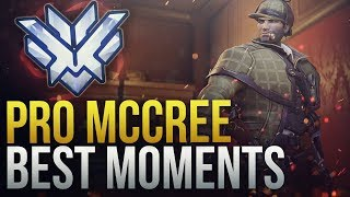 BEST PRO MCCREE MOMENTS - Overwatch Montage