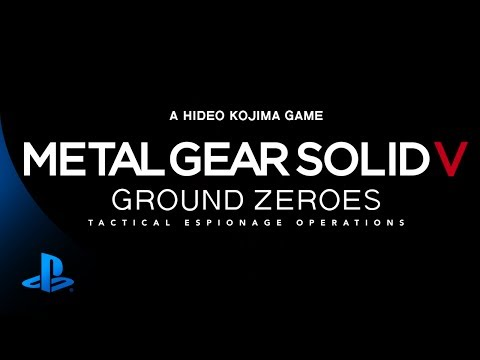 Metal Gear Solid V: Ground Zeroes | PS4™ Trailer