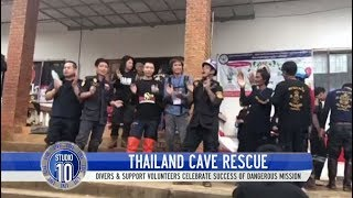 All 12 Boys & Soccer Coach Successfully Rescued From Thai Cave   Studio 10
