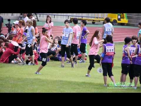110827 Apink -  ChoRong and BoMi's Dancing Time