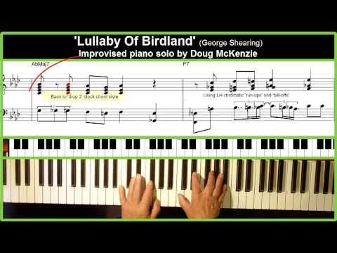 ... Birdland, Piano Tutorial (4 minutes) Musica Movil   MusicaMoviles.com