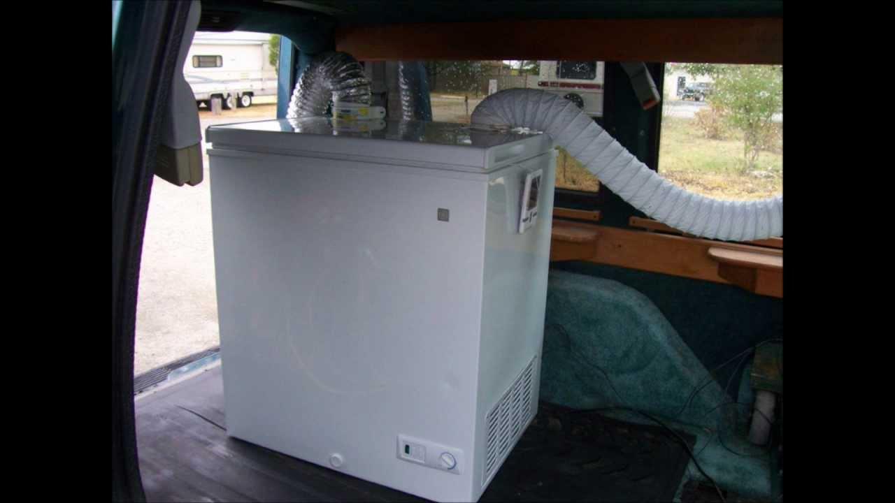 Redneck Air Conditioner Chest Freezer Conversion Youtube