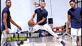 How Steph Curry Works On His Shot & Game! Exclusive Look On How The Best Shooter EVER Trains!