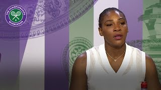 Serena Williams 'still in the moment'   Wimbledon 2018