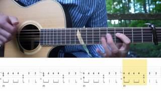 Post Malone - Congratulations - Fingerstyle Guitar Tutorial (Lesson)