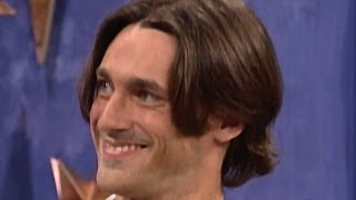 """25 Yr. Old Jon Hamm on """"The Big Date"""" Game Show (1996)"""