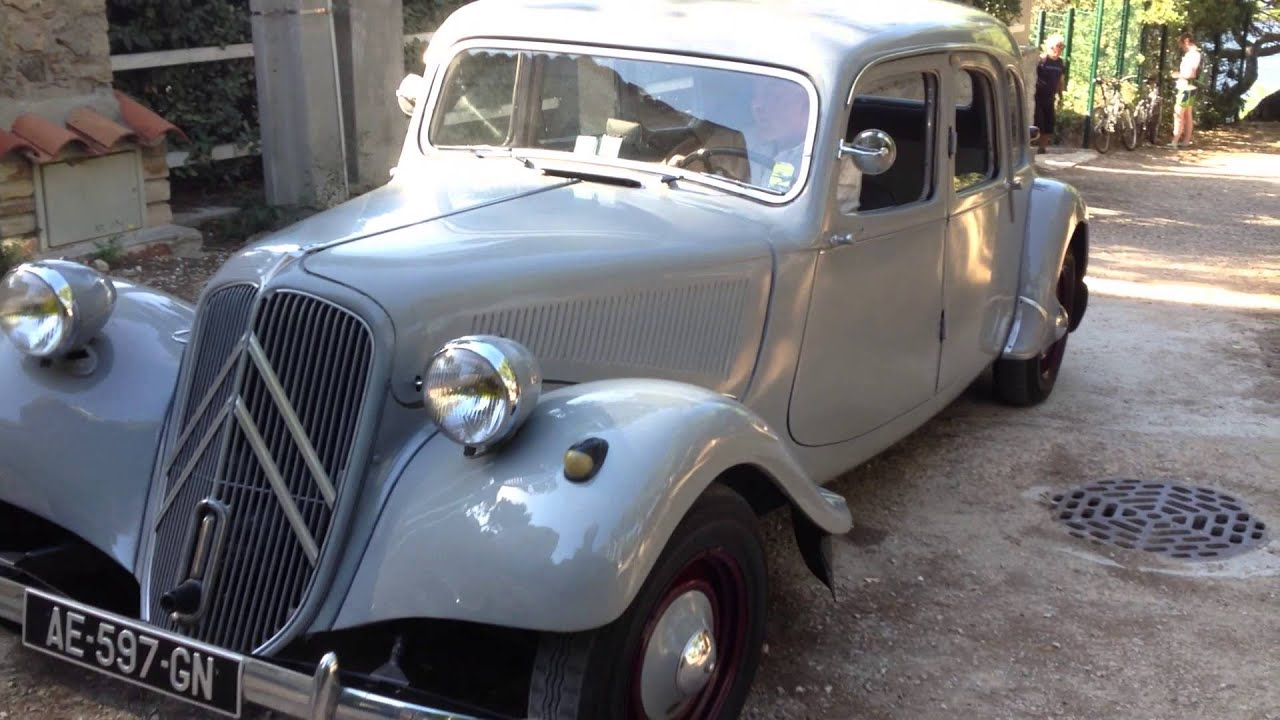 Citroen Traction 11 familiale à vendre - YouTube