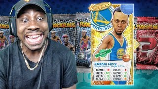 FINALLY PULLED LEGEND STEPH CURRY w/PERFECT 3 PT RATING! NBA Playgrounds Gameplay Ep. 18