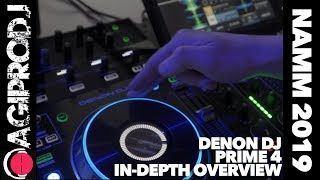 DENON DJ PRIME 4 In Depth Overview