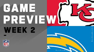 Kansas City Chiefs vs. Los Angeles Chargers Week 2 NFL Game Preview