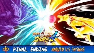 Naruto vs Sasuke Batalla Final Completa Español - Naruto Shippuden Ultimate Ninja Storm 4 sub Jap