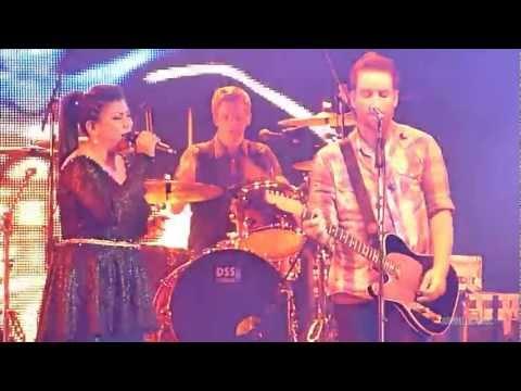 David Cook - Always Be My Baby feat. Regina Ivanova (Live in Jakarta, 17 Juli 2012)