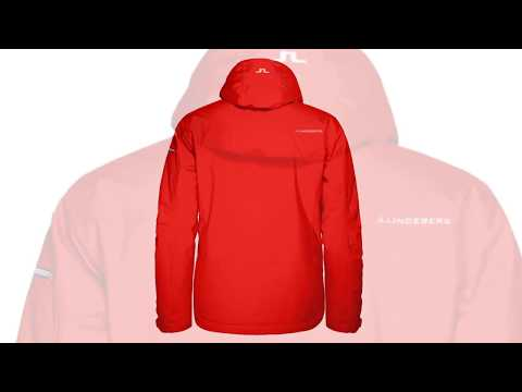 J Lindeberg J.Lindeberg Truuli Mens Ski Jacket in Racing Red