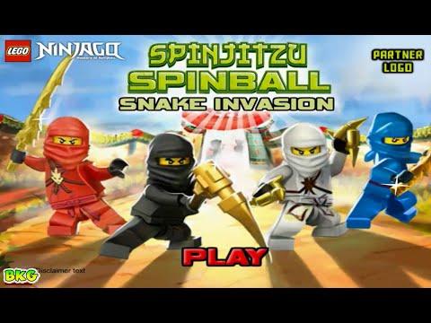 Lego Ninjago Spinjitzu Spinball Snake Invasion Gameplay ...