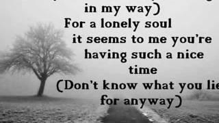 Nothing In My Way - Keane Lyrics