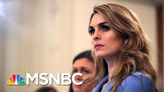 Hope Hicks Agrees To Testify Before House Judiciary | Deadline | MSNBC