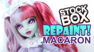STOCK BOX Repaint! Sugary Sweet Macaroon Lolita Frankie Stein Custom Doll