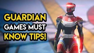 Destiny 2 - GUARDIAN GAMES RETURNS! Tips, New Exotics, Rewards and MORE!
