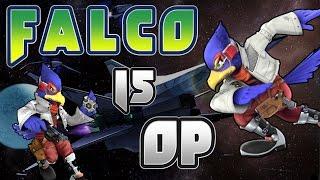 Falco is OP - Smash Bros. Wii U Montage