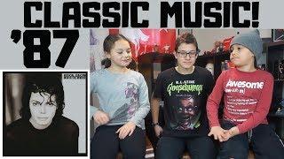 Kids REACT to Michael Jackson - Man In The Mirror
