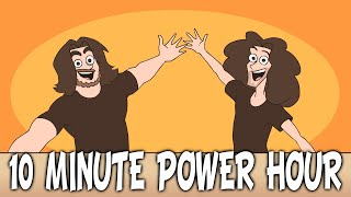 Every 10 Minute Power Hour in a Nutshell (by Shoocharu) - Game Grumps Animated