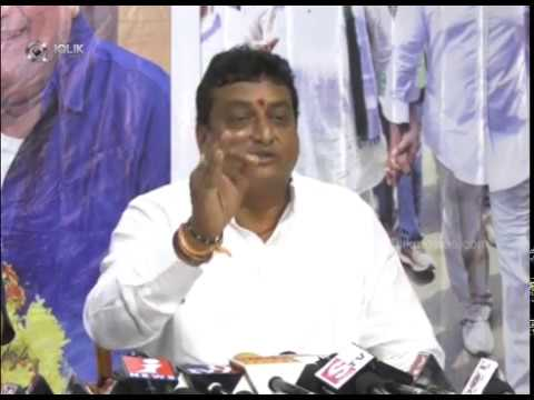 comedian Prudhvi Press Meet about Ntr