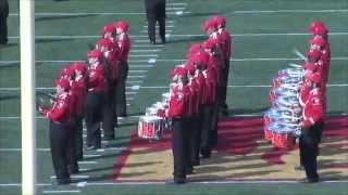 'Halftime Performance (9/27/14) - Pride of the Plains Marching Band