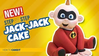 How To Make A Jack Jack Cake by Asma Qureshi | The Incredibles | How To Cake It Step By Step