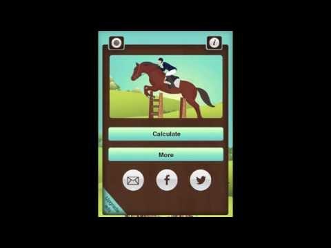 Horse Jump Distance