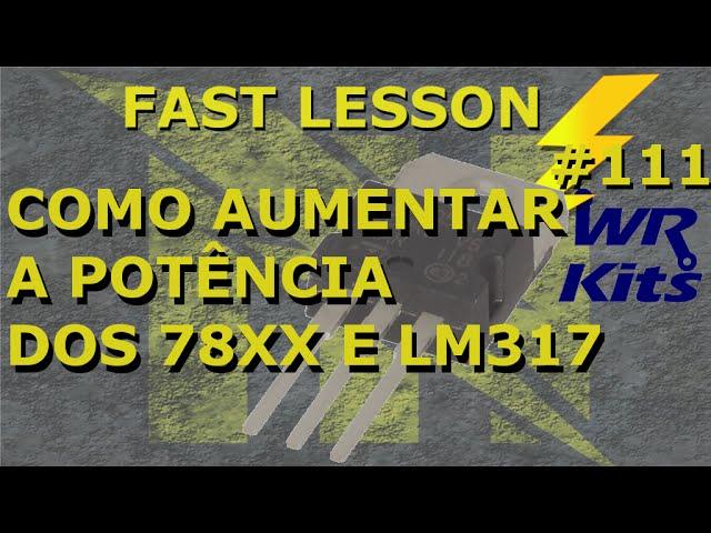 MAIS POTÊNCIA PARA CI'S REGULADORES | Fast Lesson #111