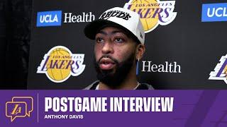 Lakers Postgame: Anthony Davis (1/7/21)