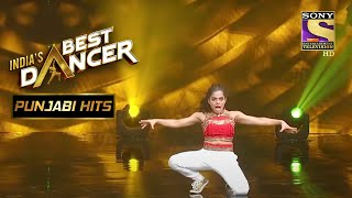 इस Contestant के Power-Packed Performance को किया सबने Enjoy   India's Best Dancer   Punjabi Hits