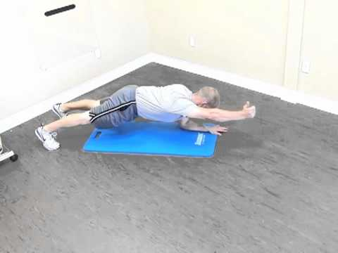 Scapular Stabilization on Floor in Plank Position.m4v