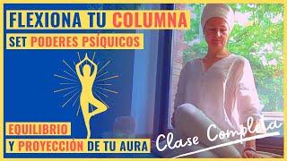 CLASE DE KUNDALINI YOGA COMPLETA. Para Equilibrar Tu Aura. Set Espinal Para Poderes Psíquicos