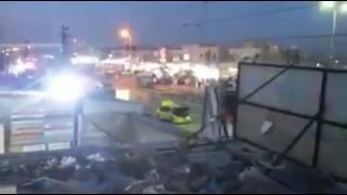 بالفيديو لحظة تفجير ابو دشير     -