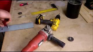 EASY ANGLE grinder GRINDER | angle grinder jig | diy Grinder