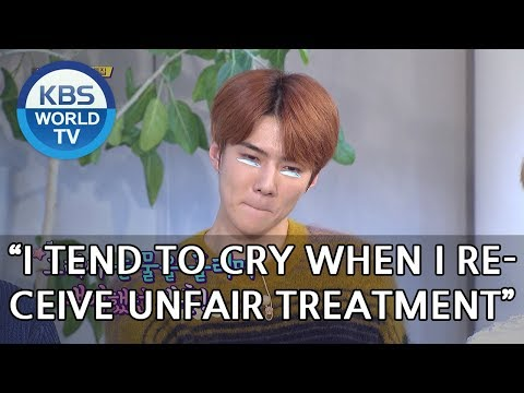 Sehun used to cry a lot? [Happy Together/2018.11.22]