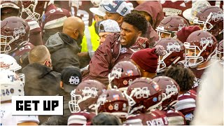 Reacting to the Tulsa-Mississippi State brawl: Paul Finebaum calls it 'utterly disgraceful' | Get Up