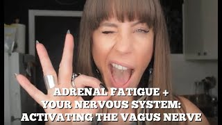 Adrenal Fatigue + The Nervous System: Activating the Vagus Nerve