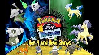 PokemonGO News | Neue Shinys und die 2 Welle der Generation 4 Pokemon