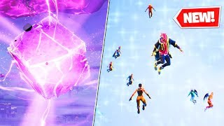 A NEW DIMENSION in FORTNITE (rip cube)