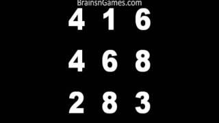 Improve Brain Skills with the Number Box Mind Game