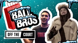 We Went Xmas Shopping With LaMelo And Liangelo Ball In NYC! Trash CHINO HILLS & Have Snowball Fight!