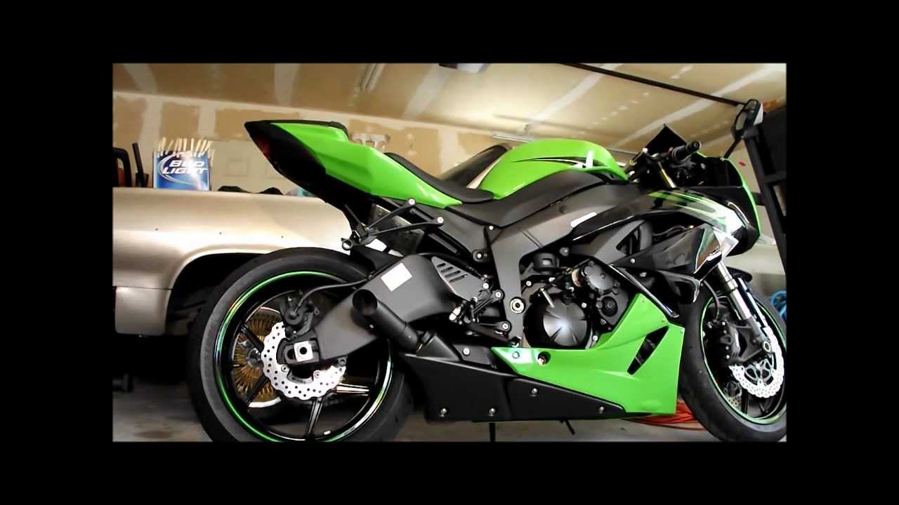 Pictures of Zx6r Exhaust