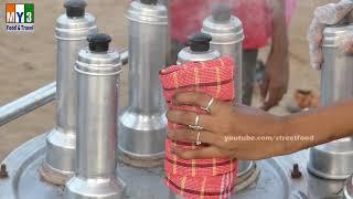 Steamed Finger Millet (Ragi Puttu) Healthiest Street Food All around the world - Street Food
