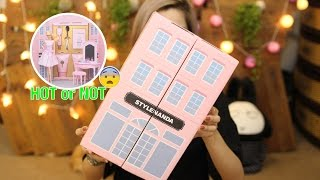 RƯ REVIEW ♡ 3CE PINK BOUTIQUE SET HOT OR NOT? - Ngôi Nhà Búp Bê Barbie