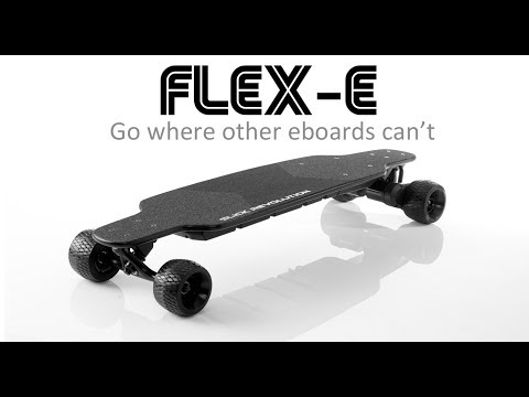 Slick Revolution Flex-Eboard Electric Skateboard