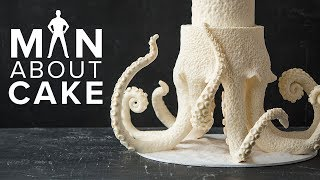RELEASE THE CHOCTOPUS | Man About Cake Octopus Wedding Cake with Joshua John Russell